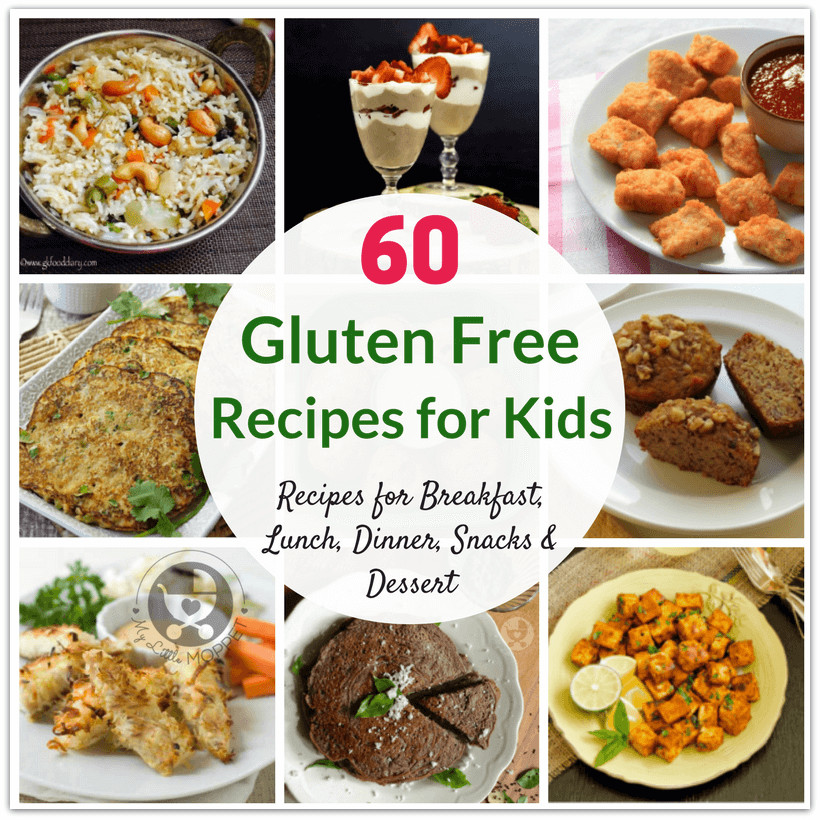 Healthy Dairy Free Recipes  60 Healthy Gluten Free Recipes for Kids