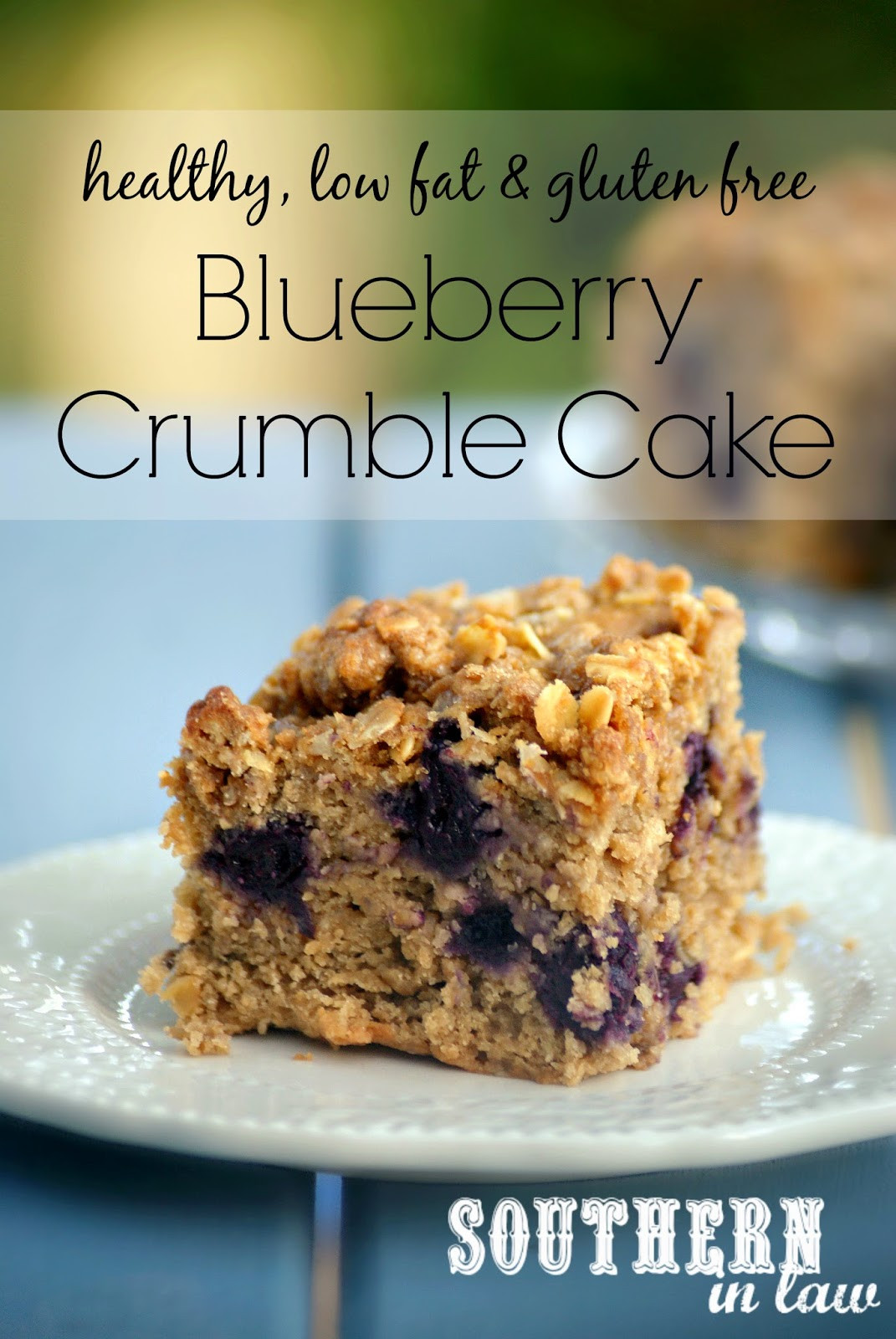 Healthy Dairy Free Recipes  Southern In Law Recipe Healthy Blueberry Crumble Cake