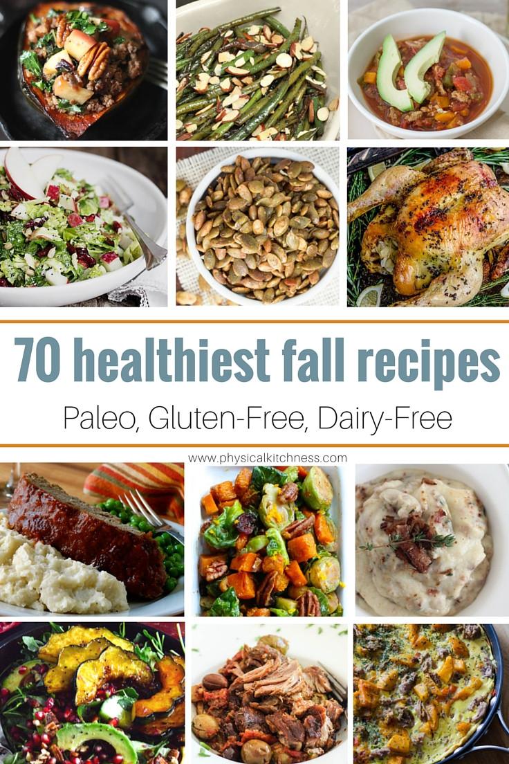 Healthy Dairy Free Recipes  70 Healthy Fall Recipes Paleo Gluten Free Dairy Free