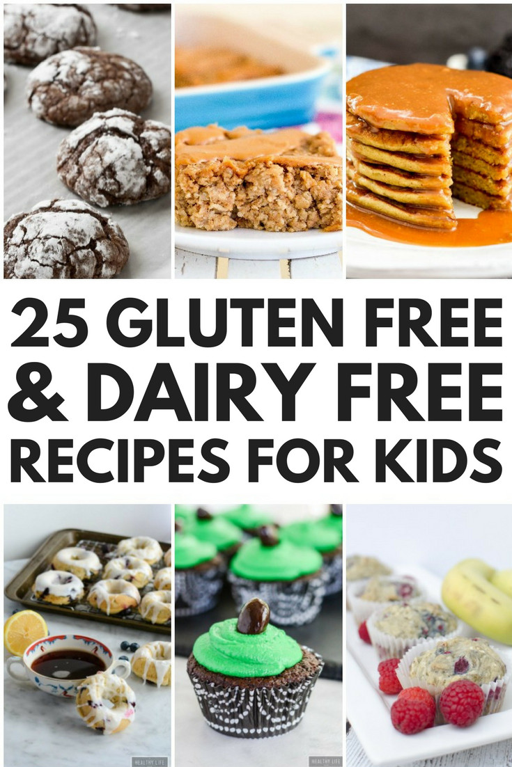 Healthy Dairy Free Recipes  24 Simple Gluten Free and Dairy Free Recipes for Kids