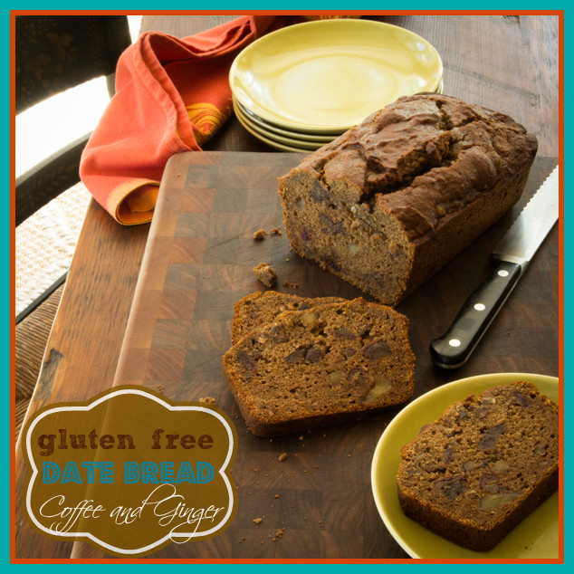 Healthy Date Bread Recipe  gluten free date bread with coffee and ginger Healthy