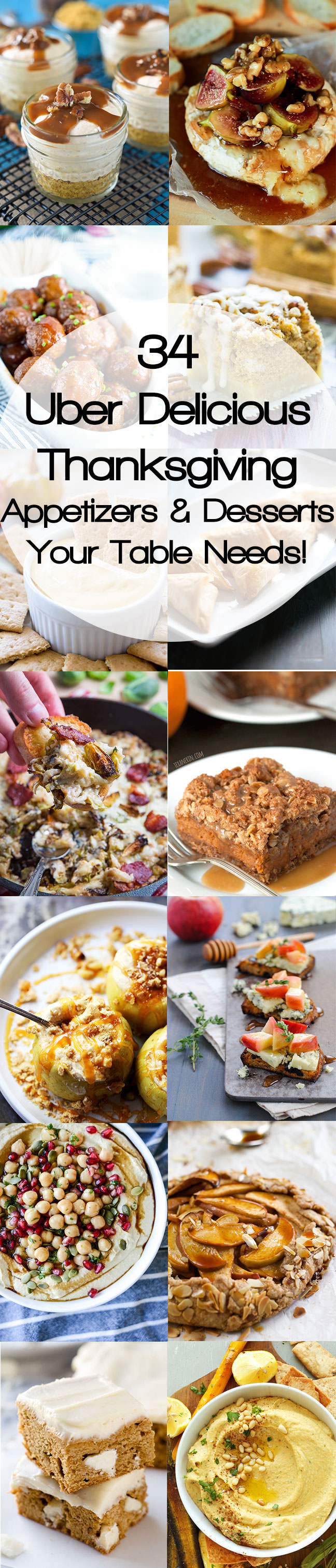 Healthy Delicious Appetizers  Healthy Thanksgiving Appetizers & Desserts