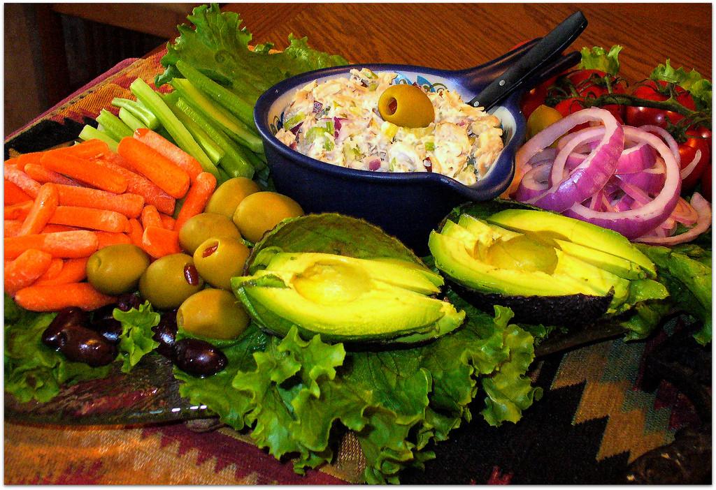 Healthy Delicious Snacks  Healthy Party Platter of Delicious Food