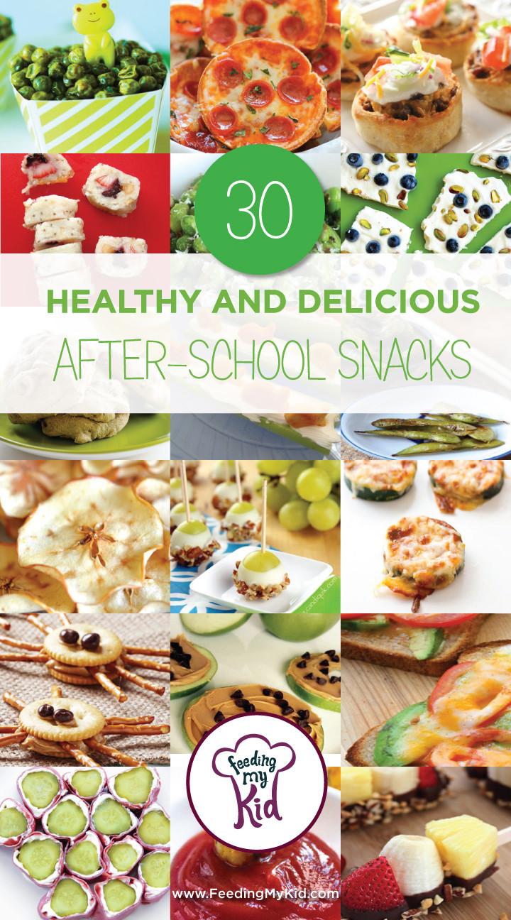 Healthy Delicious Snacks  30 Healthy and Delicious After School Snacks Feeding My Kid
