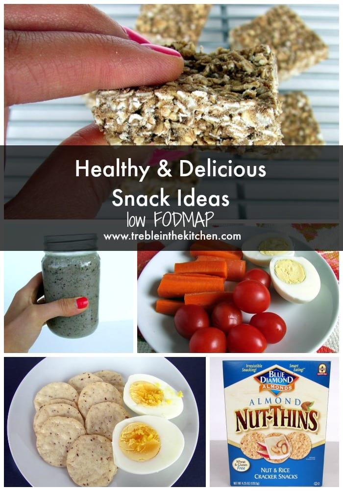 Healthy Delicious Snacks  Healthy & Delicious Snack Ideas low FODMAP Treble in