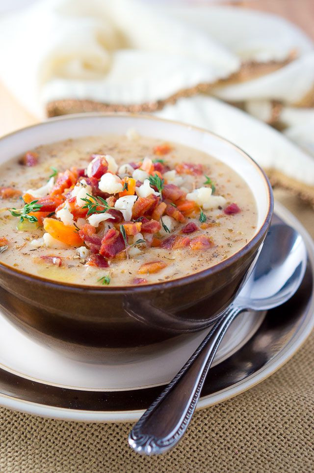 Healthy Delicious Soups  Easy Cauliflower Soup