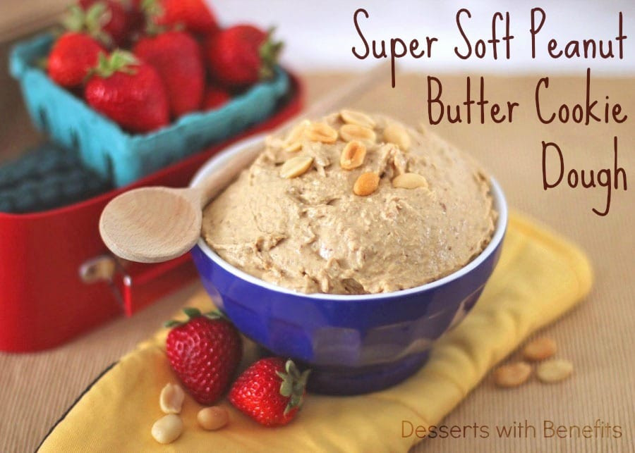 Healthy Dessert Blog  Desserts With Benefits Healthy Peanut Butter Cookie Dough