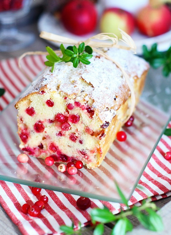 Healthy Dessert Ideas Easy  Easy Cranberry Cake – Healthy Christmas Family Party Menu