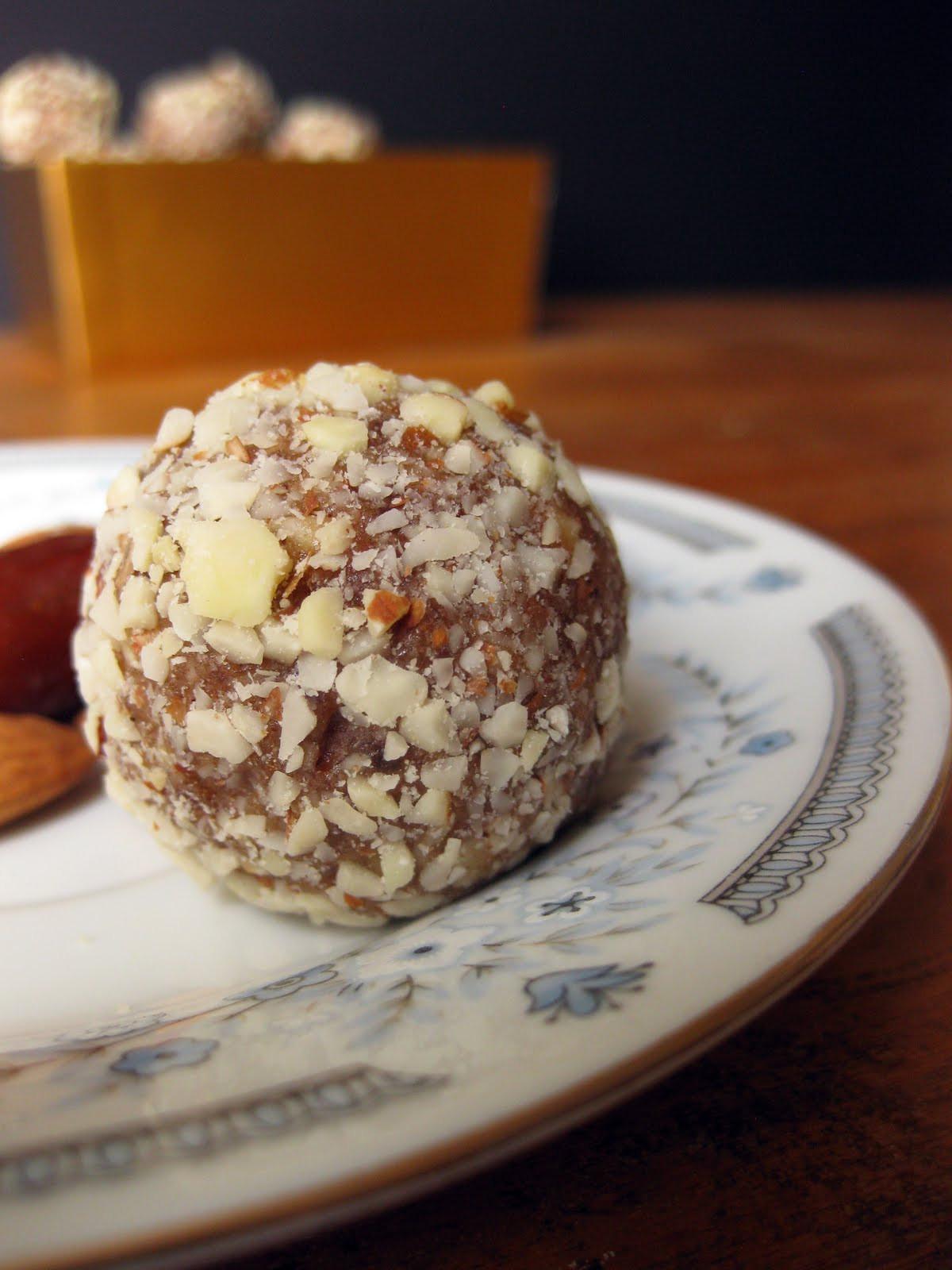 Healthy Dessert Ideas Easy  Easy Recipe for Healthy Almond & Date Treats Paleo