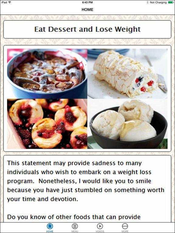 Healthy Dessert Ideas For Weight Loss  App Shopper Easy Dessert Diet Recipes for Healthy Weight
