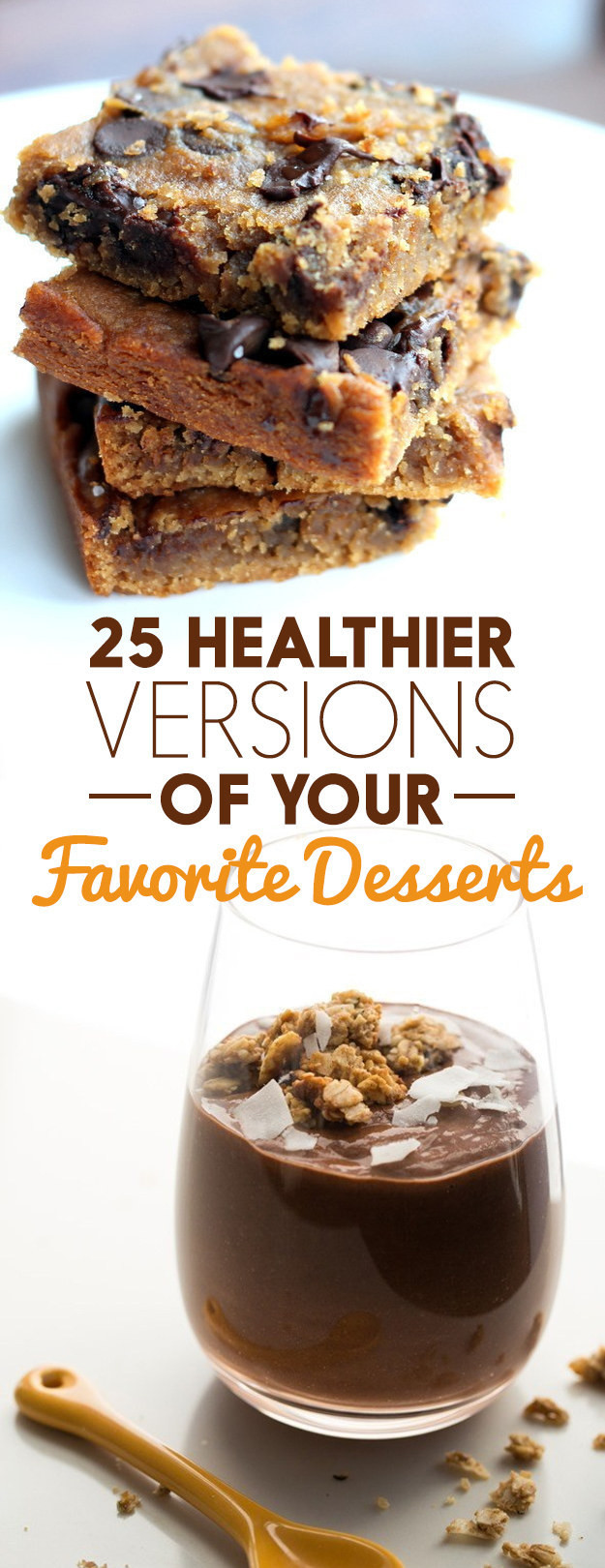 Healthy Desserts Buzzfeed  25 Healthier Versions Your Favorite Desserts