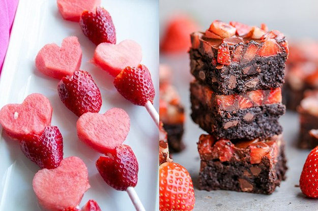 Healthy Desserts Buzzfeed  25 Healthyish Desserts For Valentine s Day