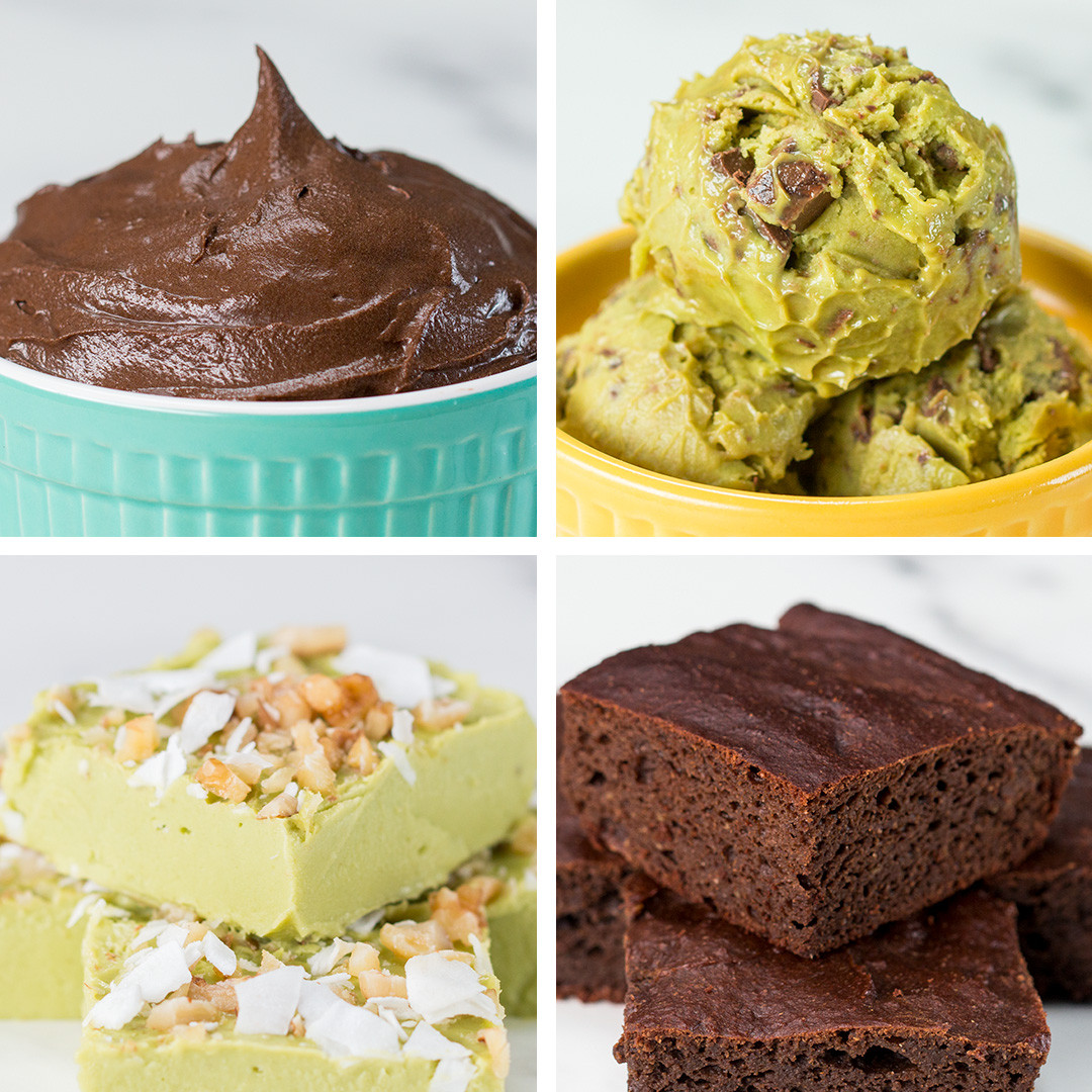 Healthy Desserts Buzzfeed  Avocado Desserts 4 Ways