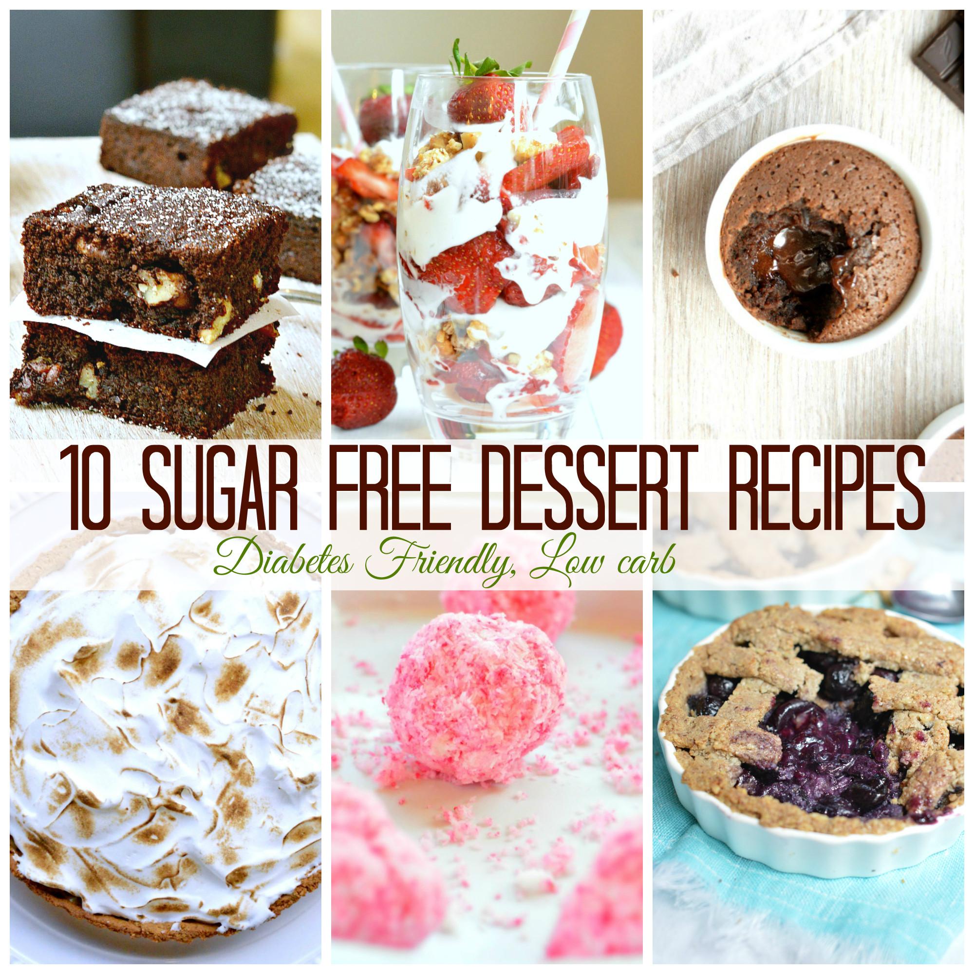 Healthy Desserts For Diabetics  10 Sugar Free Dessert for diabetics SWEETASHONEY