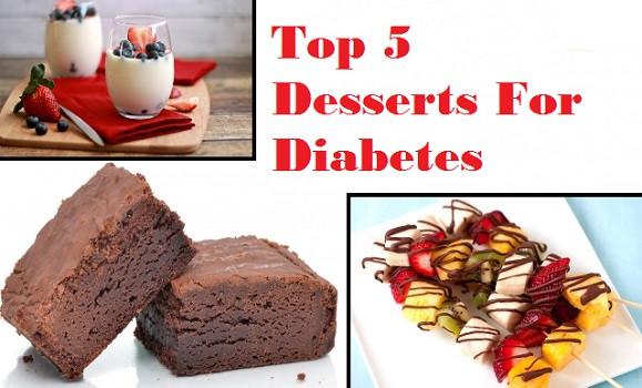 Healthy Desserts For Diabetics  5 Best Dessert Recipes for Diabetic Patients