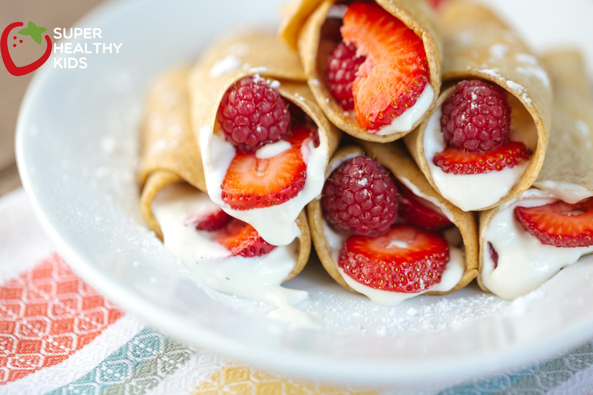 Healthy Desserts For Kids  Dessert Taco Recipe