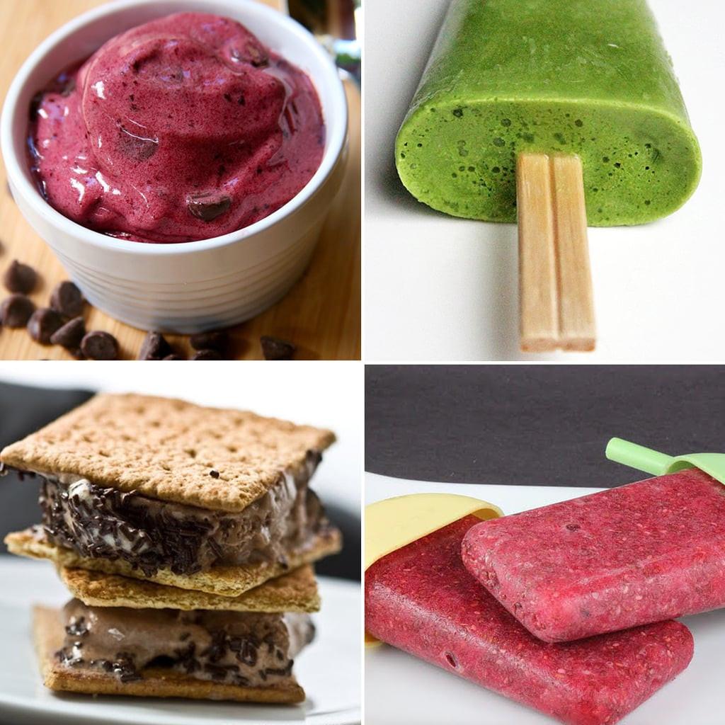 Healthy Desserts For One  Best Healthy Frozen Desserts