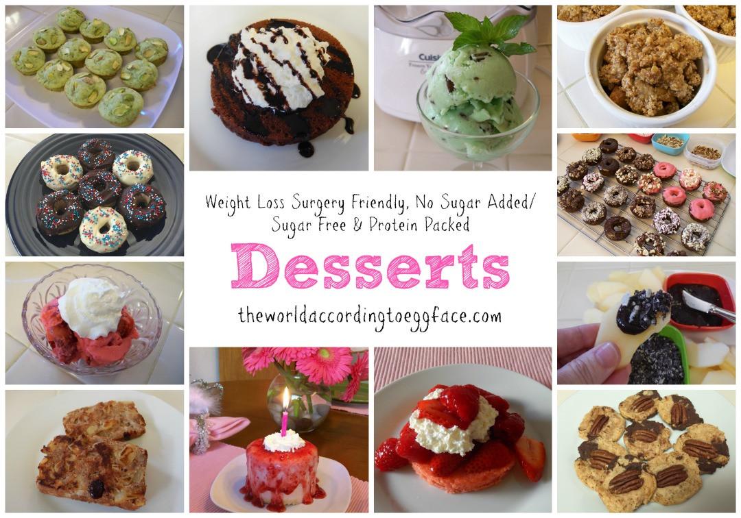 Healthy Desserts For Weight Loss  theworldaccordingtoeggface Weight Loss Surgery Friendly