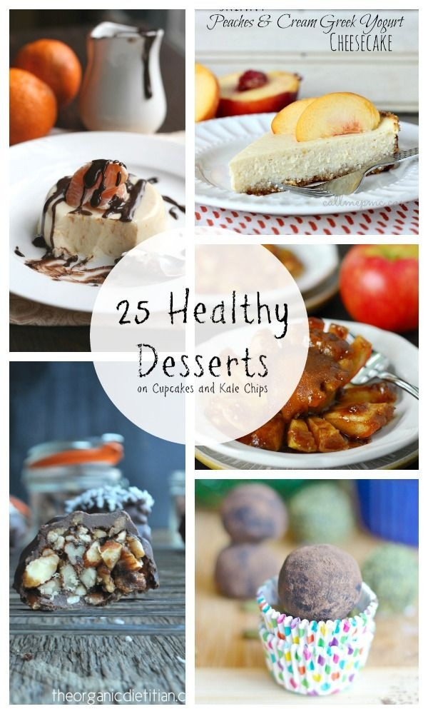 Healthy Desserts To Buy  25 Healthy Desserts light skinny low carb gluten free