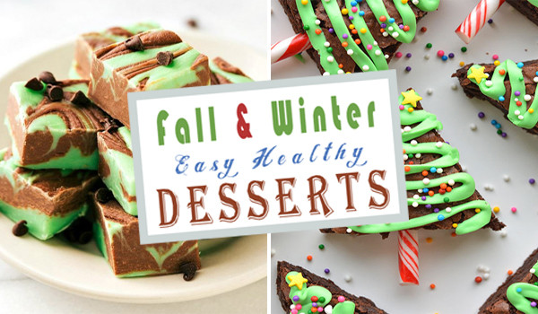 Healthy Desserts To Make At Home  23 Fall & Winter Easy Healthy Desserts To Make At Home