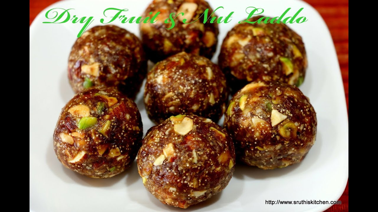 Healthy Desserts With Dates  Date and Nut Laddoo Healthy Indian Sweet Recipe