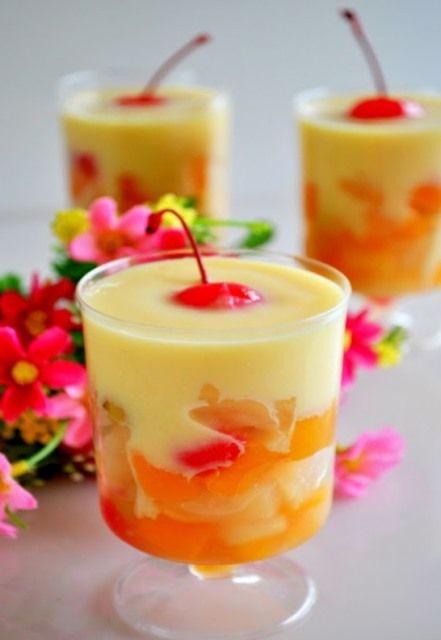 Healthy Desserts With Fruit  Vanilla Flavored Custard Healthy Dessert Recipes Fit Girl