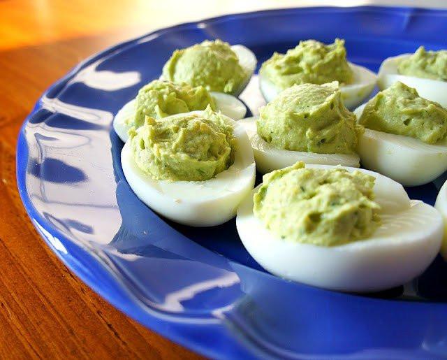 Healthy Deviled Eggs With Avocado  20 Delicious And Healthy Recipes For Avocado Lovers