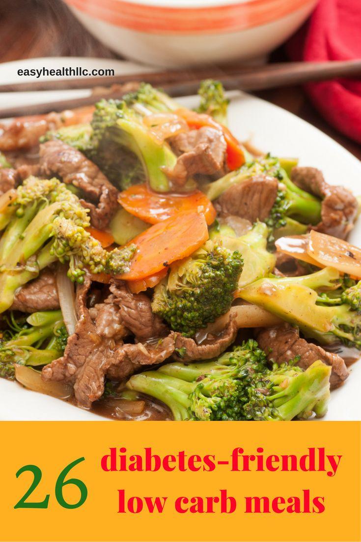 Healthy Diabetic Dinners  Best 25 Diabetic meals ideas on Pinterest