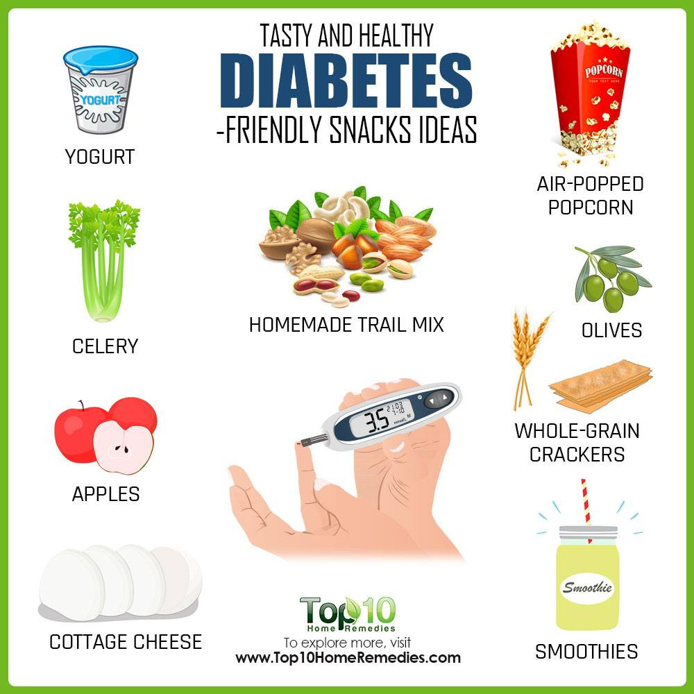 Healthy Diabetic Snacks  10 Tasty and Healthy Diabetes Friendly Snack Ideas