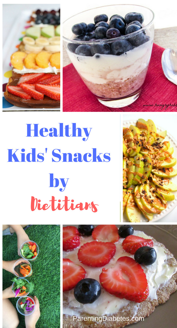 Healthy Diabetic Snacks  Healthy Snacks for Kids from Dietitians Parenting Diabetes
