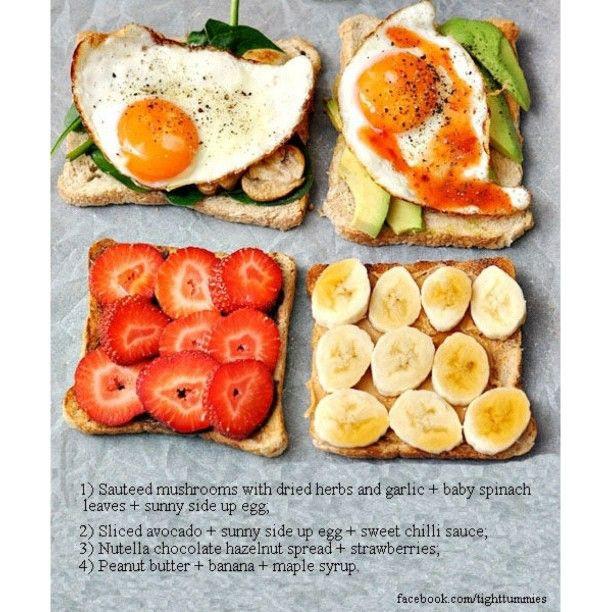 Healthy Diet Breakfast Ideas  1000 images about Healthy Breakfast on Pinterest