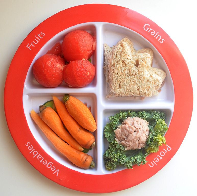 Healthy Dinner For Kids  Tuna Lunch on Myplate MyPlate Meal Ideas