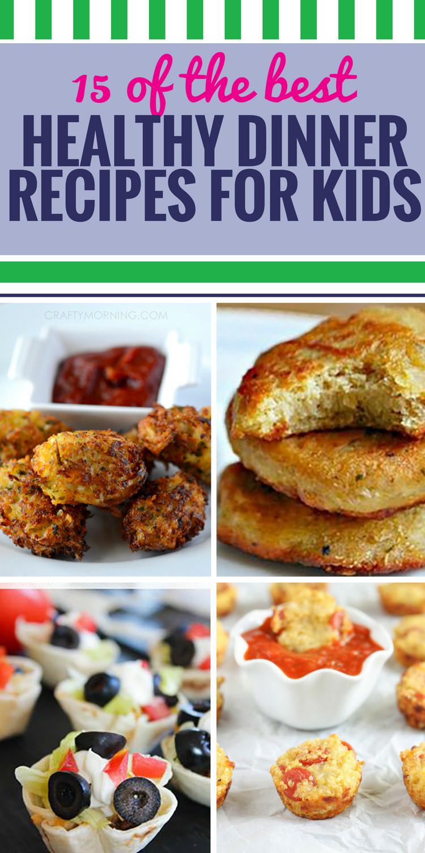 Healthy Dinner For Kids  healthy dinner ideas for kids