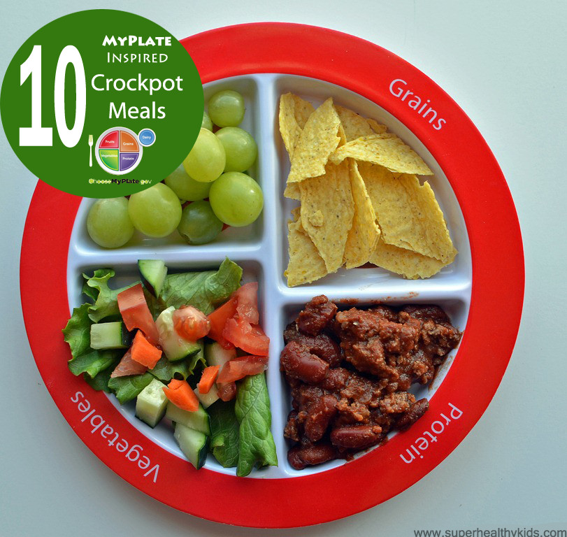 Healthy Dinner For Kids  Top 10 Healthy MyPlate Inspired Crockpot Meals
