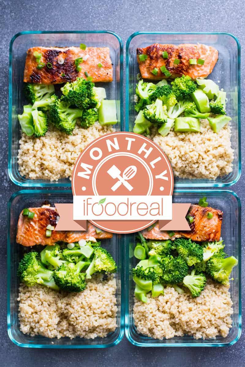 Healthy Dinner For One  Healthy Meal Prep February Giveaway iFOODreal