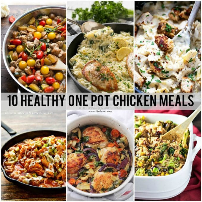 Healthy Dinner Ideas For One  10 Healthy e Pot Meals with Chicken Dinner at the Zoo