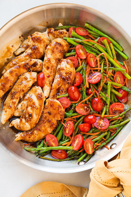 Healthy Dinner Ideas For One  13 Healthy Chicken Recipes That ll Make Dinner A Breeze