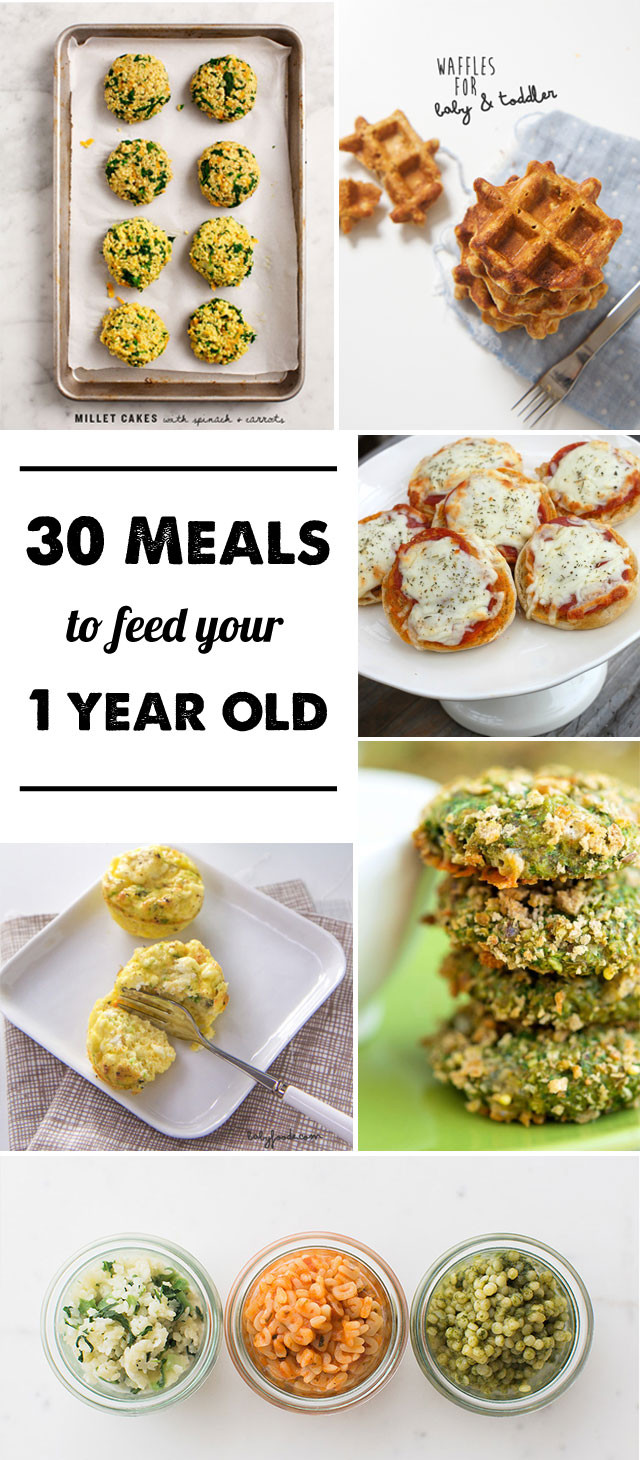 Healthy Dinner Ideas For One  30 Meal Ideas for a 1 year old Modern Parents Messy Kids