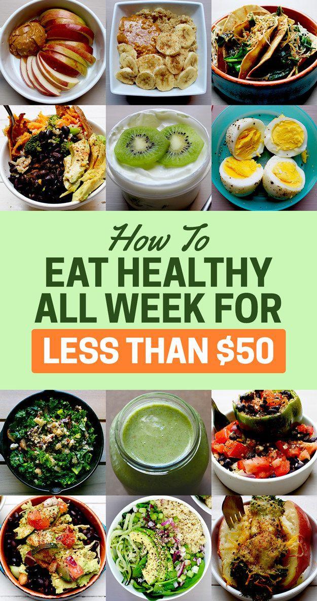 Healthy Dinner Ideas Pinterest  The 25 best Cheap healthy food ideas on Pinterest