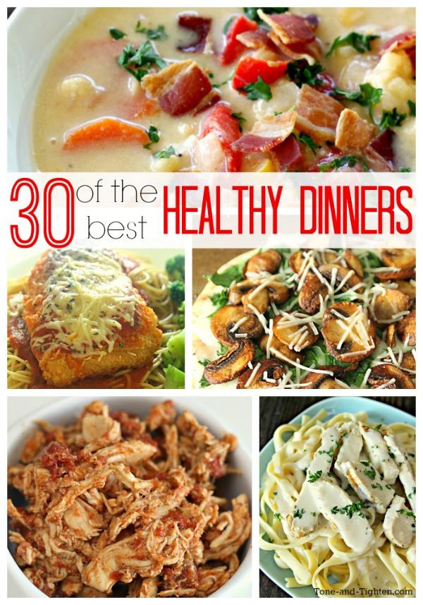 Healthy Dinner Ideas Pinterest  30 Healthy Dinner Recipes