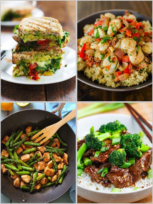 Healthy Dinner Ideas Pinterest  weekend fit tips and fab list healthy dinner ideas