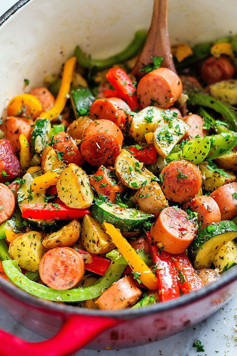 Healthy Dinner Ideas  41 Low Effort and Healthy Dinner Recipes — Eatwell101