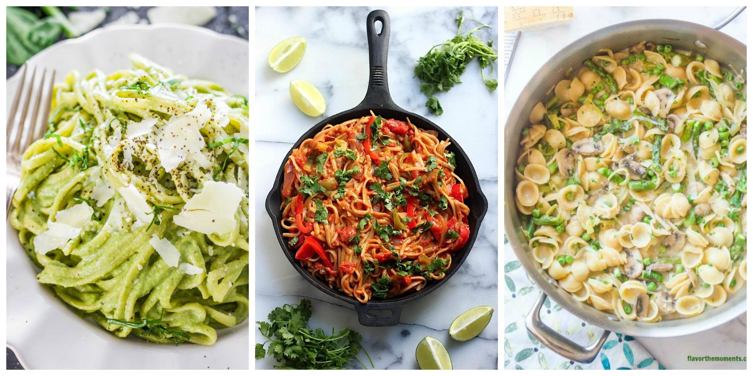 Healthy Dinner Ideas  25 Healthy Pasta Recipes Light Pasta Dinner Ideas