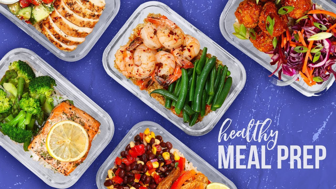Healthy Dinner Meal Prep  5 Healthy MEAL PREP Ideas