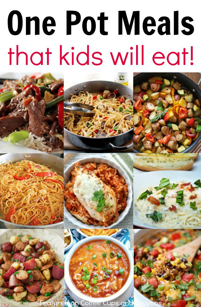 Healthy Dinner Recipes For Kids  Kid Friendly e Pot Meals
