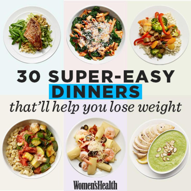 Healthy Dinner Recipes For Weight Loss  36 Super Easy Healthy Dinners That ll Help You Lose Weight