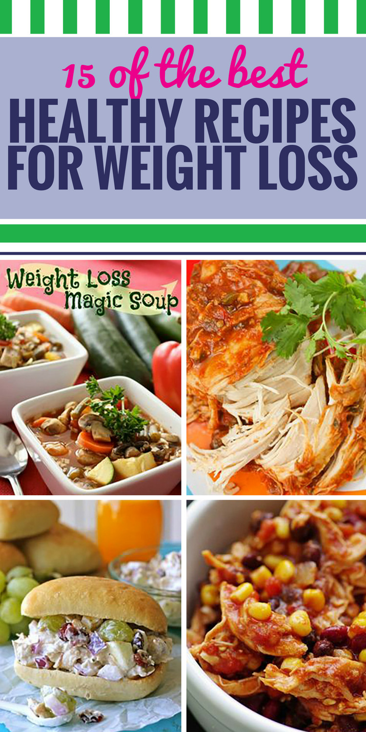 Healthy Dinner Recipes For Weight Loss  15 Healthy Recipes for Weight Loss My Life and Kids