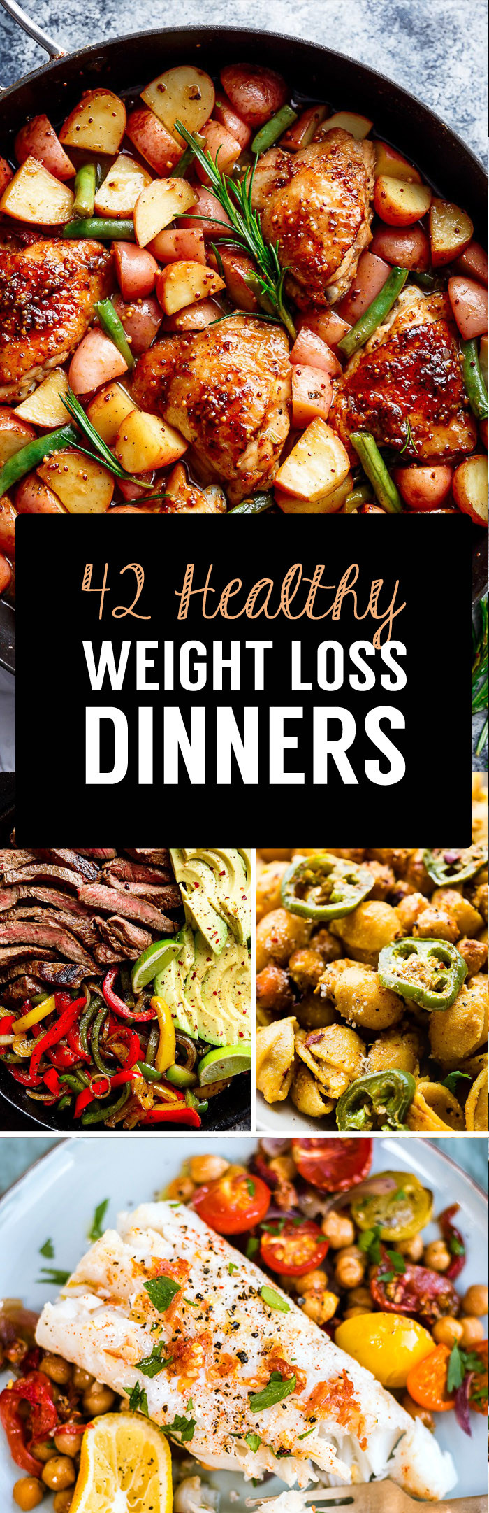 Healthy Dinner Recipes For Weight Loss  42 Weight Loss Dinner Recipes That Will Help You Shrink