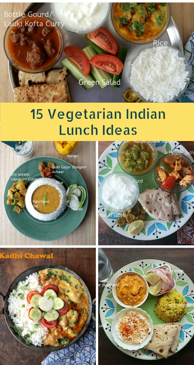 Healthy Dinner Recipes Indian Vegetarian  15 Ve arian Indian Lunch Ideas whats cooking mom