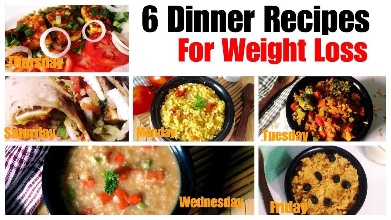 Healthy Dinner Recipes Indian Vegetarian  6 Healthy Ve arian Dinner Recipes for Weight Loss
